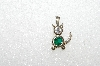 "MBA #S51-618   ""1980's Sterling May Cat Pendant"""
