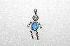 "MBA #S51-685   ""1980's Sterling September Boy Pendant"""