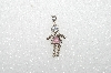 "MBA #S51-081   ""1980's Sterling October ""KID"" Girl Pendant"""