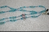 Aqua Blue Glass Beads