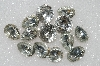 "MBA #S51-325   ""Vintage Lot Of 13 Large Clear Glass Rhinestones"""