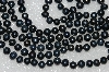 "**MBA #S51-355   ""64"" Black Endless Cultured Freshwater Pearl Necklace"""