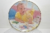 "+MBA #S25-126   ""1991 Abbie Williams Baby's First Smile Plate"""