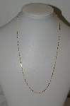 """SOLD""    MBA #S25-358   ""Older 14K Gold 18"" Chain"""