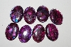 "MBA #S25-062   ""Purple Lot Of 8 Paua Shell Cabochons"""