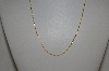 "**MBA #S25-362   ""14K Yellow Gold Twisted 18"" Chain"""