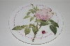 "**MBA #S29-151   ""2003 Roy Kirkham Bone China Rose Plate"""