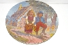 "MBA #S30-279     ""1981 Gregory Perillo Hansel And Gretel Collectors Plate"""