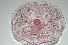 "**MBA #S13-131   ""Older Fancy Pink Glass Cake Server"""