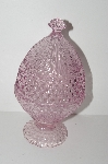 "+MBA #S28-289    ""Gorham Emily's Pink Egg Shaped Candy Dish With Lid"""