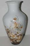 "**MBA #S28-266     ""H&C Selb Heinrich Hand Painted Rose Vase"""