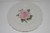"**MBA #S28-162    "" Set Of 4  Throdore Haviland Regents Park ""Rose"" Dinner Plate"""