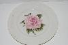 "**MBA #S28-167  Set Of 4   ""Theodore Haviland Regents Park ""Rose"" Salad Plate"""