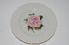 "**MBA #S28-173  Set Of 4   ""Theodore Haviland  Regents Park ""Rose"" Toast Plate"""