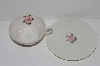 "**MBA #S28-180  8 Piece Set   ""Theodore Haviland Regents Park ""Rose"" Tea Cup & Saucer Set"""
