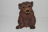 "+MBA #S28-219   ""2003 Art Line Sitting Brown Bear Lawn Ornament"""