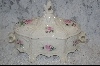 **MBA #6904  Antique Look Victorian  Ceramic Jewelry Box