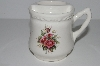"**MBA #S28-192   ""Older Athena Rose Ceramic Cup & Tooth Brush Holder"""