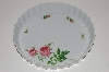 "**MBA #S18-147     ""Christineholm Ceramic Rose Pie-Tart-Quiche Dish"""