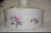 **MBA #6807  Ceramic Country Casserole Dish With Matching Lid
