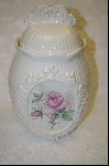**MBA #6777  Formal Ceramic Cookie Jar