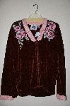 "+MBAHB#19-024  ""Limited Edition Storybook Knits ""Cabbage Rose"" Sweater"