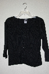 "MBAHB #19-035  ""Clio Black Button Front Sweater"""