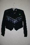 "MBAHB  #19-053  ""Circle By Marilyn Lenox Fancy Beaded  One Of A Kind Western Shirt"""