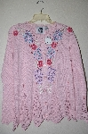 "+MBAHB #19-091 ""Limited Edition Storybook Knits ""Enchanting Hydrangea"" Sweater"