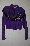 "MBAHB #19-152  ""Chaparral Ridge 1993 Fancy One Of A Kind Hand Beaded Short Jacket"""