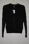 "MBAHB #19-114  ""I.N.C. Black Button Front Sweater"""