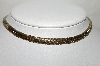 "MBA #88-322  ""Coro Gold Tone Chocker Style Necklace"""