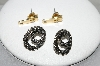 "MBA #87-089  ""Two Pairs Vintage Pierced Earrings"""