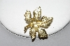 "+MBA #88-225  ""Gold Plated Maple Leaf Pin"""