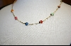 "**14kt Enamel Lady Bug 18"" Necklace"