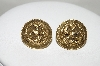 "**MBA #87-098  MBA #87-098  ""Coro ""PRIN NOI INSINE 14 MARTIE 1881"" Screw Back Earrings"""
