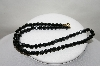"MBA #89-024  ""Black Crystal Bead Necklace"""