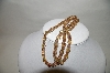 "MBA #89-266  ""Vintage Amber AB  Crystal Necklace"""