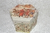 "+MBA #SG9-187    ""Boxed 12 Piece Set Of Victorian Style Papaer Mache Christmas Ornaments"""