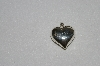 "**MBA #SG9-136    ""Sterling Puffed Heart Pendant"""