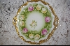 "**MBA #AP-BRP  ""Bavarian Hand Painted Rose Plate"