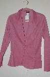 "**MBADG #13-124  ""Janette Pink Corduroy One Button Jacket"""
