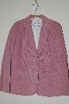 "**MBADG #13-146  ""1979 Pioneer Wear Pink Corduroy Suede Patch Fully Lined Blazer"""
