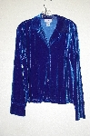 "**MBADG #13-239  ""J G Hook Blue Velvet Shirt"""