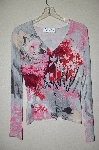 "MBADG #5-028  ""ParisLine Fancy Sequin Embelished Pullover Sweater"""