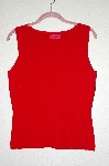 "MBADG #5-067  ""Carina Red Fancy Sweater Tank"""