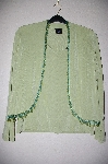 "MBADG #5-129  ""Citiknits Beaded Fringe Bolero Jacket & Scoopneck Tank Set"""