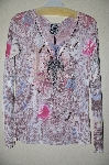 "MBADG #5-138  ""Spy Zone Exchange Fancy Embelished Long Sleve Shirt"""