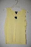 "MBADG #5-122  ""City Silk Yellow Stretch Tank"""