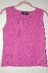 "MBADG #5-099  ""J.A.C. Fancy Knit Pink Tank"""